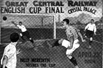 Manchester City win the 1904 F.A. Cup