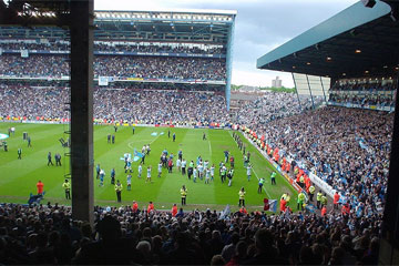 The last game played at Maine Road