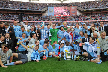 City win the 2011 F.A. Cup