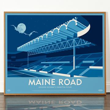 Competition: Win a Maine Road Print