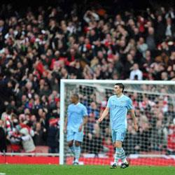 Arsenal 1 Manchester City 0 - match report