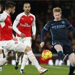 Arsenal vs Manchester City preview: Zabaleta, Sterling and De Bruyne all available for selection