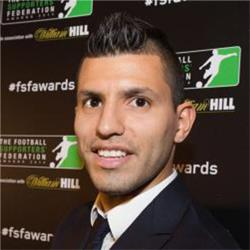 Sergio Aguero wins November Player of the Month Award