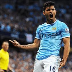 Aguero could be back for Blackburn game