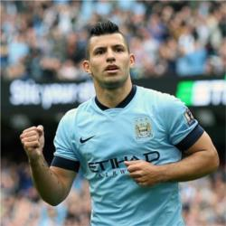 Aguero wins Player of the Month Award