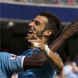 Álvaro Negredo voted Player of the Month for August