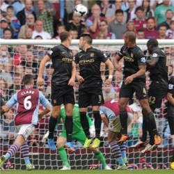 Aston Villa 3 Manchester City 2 - match report