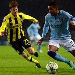 Borussia Dortmund 1 Manchester City 0 - match report
