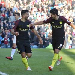 Burnley 1 Manchester City 2 - Aguero scores twice as City come from behind to win