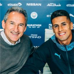 City sign Joao Cancelo from Juventus on six-year contract