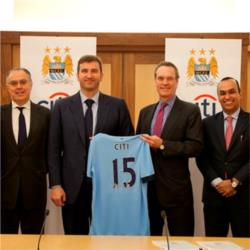 City announce partnership with banking giant