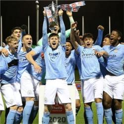 City win FA Youth Cup after beating Chelsea