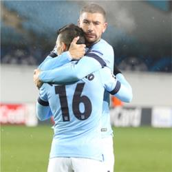 CSKA Moscow 2 Manchester City 2 - match report