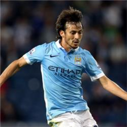David Silva wins Bluemoon Player of the Month award for August