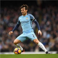 David Silva is the Bluemoon Player of the Season 2016/17
