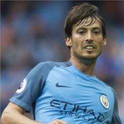 David Silva is the Bluemoon Player of the Month for March 2017