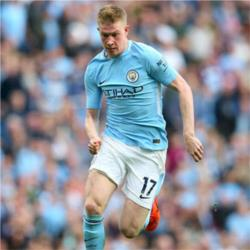 Kevin De Bruyne is the Bluemoon Player of the Month for October 2017