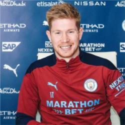 Kevin De Bruyne signs contract extension until 2025