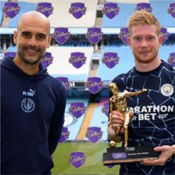 Kevin de Bruyne named as Premier League Player of the Season