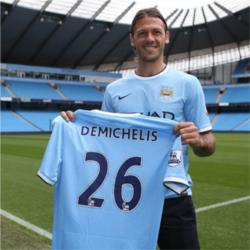Demichelis ruled out for six weeks