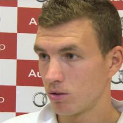 Dzeko draws confidence from Pellegrini