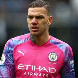 Ederson named as Bluemoon Player of the Month for October