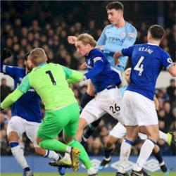 Everton vs Manchester City: No fresh injury worries for Guardiola