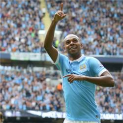 Fernandinho named as Bluemoon's  February Player of the Month