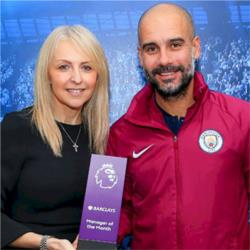 Guardiola named as Premier League Manager of the Month for November
