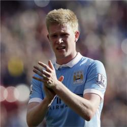 Kevin De Bruyne is the Bluemoon Player of the Month for September