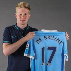 City sign Kevin De Bruyne for £54.5m