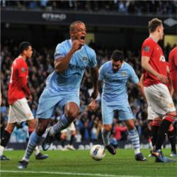 #PLmoments - Vincent Kompany scores vital derby winner