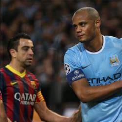 Manchester City 0 FC Barcelona 2 - match report