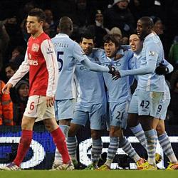 Manchester City 1 Arsenal 0 - match report