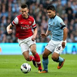 Manchester City 1 Arsenal 1 - match report