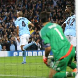 Manchester City 1 Juventus 2 - match report
