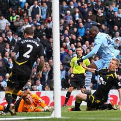 Manchester City 2 Bolton Wanderers 0 - match report