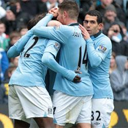 Manchester City 2 Chelsea 0 - match report
