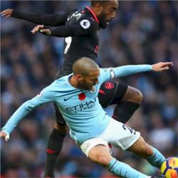 Arsenal v Manchester City preview: Fernandinho misses out with hamstring strain