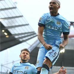 Manchester City 3 Aston Villa 2 - match report