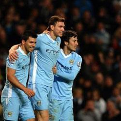 Manchester City 3 Blackburn Rovers 0 - match report