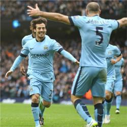 Manchester City 3 Crystal Palace 0 - match report