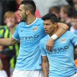 Manchester City 3 Everton 1 - match report
