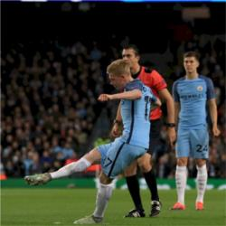 Manchester City 3 FC Barcelona 1 - Blues come from a goal behind to deliver first victory over Blaugrana