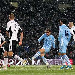 Manchester City 3 Fulham 0 - match report