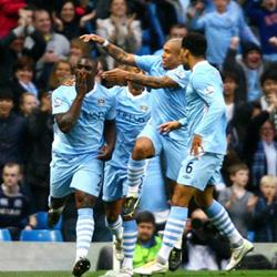 Manchester City 3 Newcastle United 1