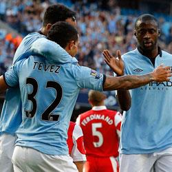 Manchester City 3 QPR 1 - match report