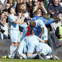 Manchester City 3 QPR 2 - match report