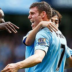 Manchester City 3 Sunderland 0 - match report