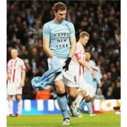 Manchester City 3 Stoke City 0 - match report